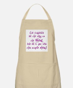I've Come All The Way from th BBQ Apron