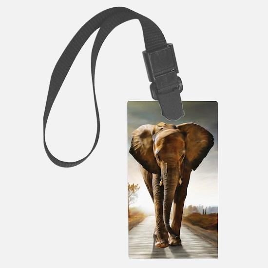 The Elephant Luggage Tag