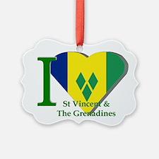 I Love St Vincent & The Ornament