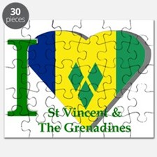 I Love St Vincent & The Grenadines Puzzle