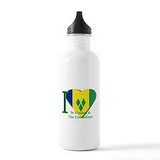 I Love St Vincent & The Grenadines Water Bottle