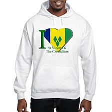 I Love St Vincent & The Grenadines Hoodie