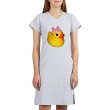 DUCKY by SupaTeez - Women's Nightshirt