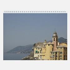 Italian Riviera Wall Calendar