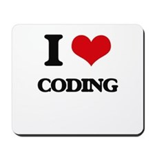 I love Coding Mousepad