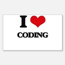 I love Coding Decal