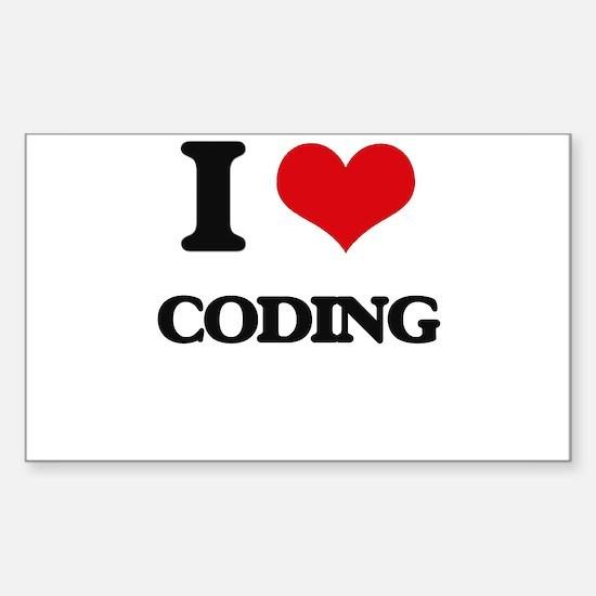 I love Coding Decal