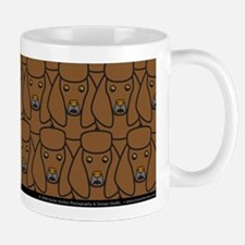 Brown Poodles Mug
