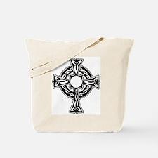 Funny Catholic celtic knot Tote Bag