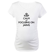 Keep Calm by focusing on on Jarv Shirt