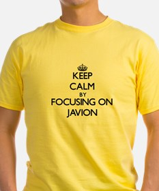 Keep Calm by focusing on on Javion T-Shirt