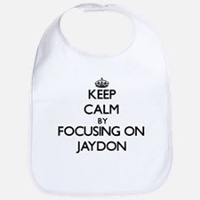 Keep Calm by focusing on on Jaydon Bib