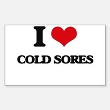 I love Cold Sores Decal