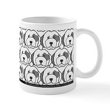 Old English Sheepdogs Small Mug