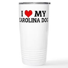 Cute Carolina dogs Travel Mug