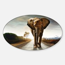 The Elephant Decal