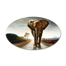 The Elephant Wall Decal