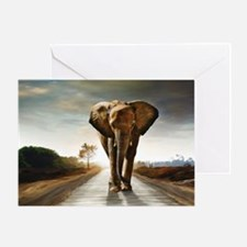 The Elephant Greeting Cards