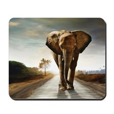 The Elephant Mousepad