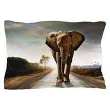 The Elephant Pillow Case