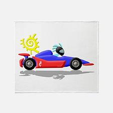 Racing Throw Blanket