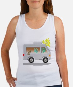 Motor Home Women's Tank Top