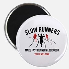 Slow Runners Magnet