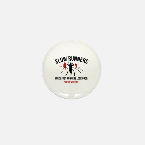 Slow Runners Mini Button (10 pack)