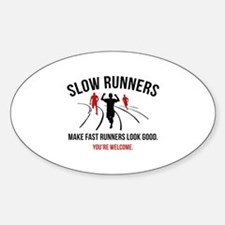 Slow Runners Decal