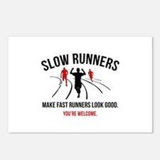 Slow Runners Postcards (Package of 8)