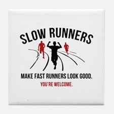 Slow Runners Tile Coaster