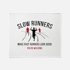 Slow Runners Stadium Blanket