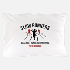 Slow Runners Pillow Case