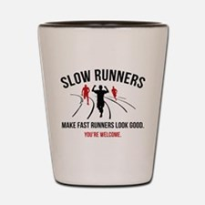 Slow Runners Shot Glass