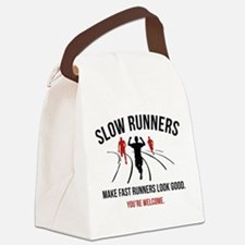Slow Runners Canvas Lunch Bag
