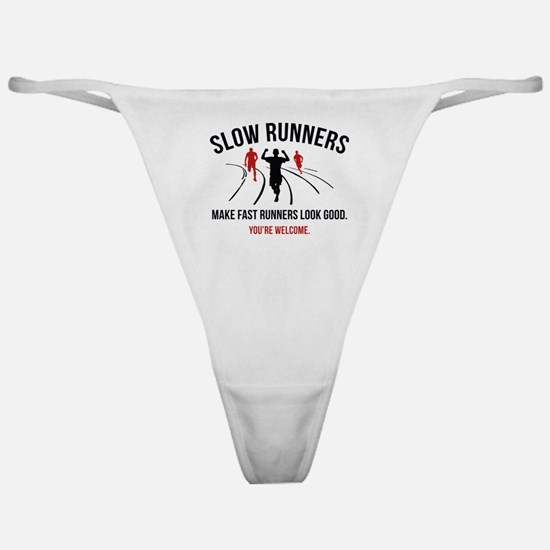 Slow Runners Classic Thong