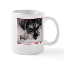 Cute Miniature schnauzer Mug