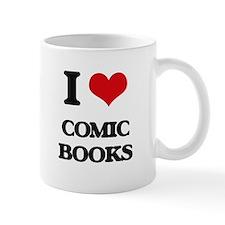 I love Comic Books Mugs