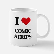 I love Comic Strips Mugs