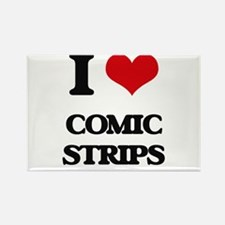 I love Comic Strips Magnets