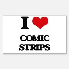I love Comic Strips Decal