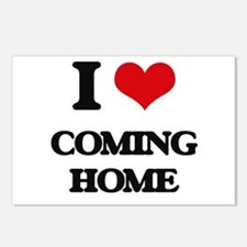 I love Coming Home Postcards (Package of 8)