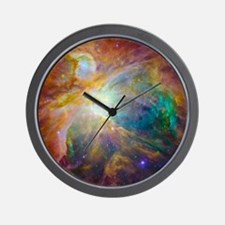 Chaos In Orion Wall Clock