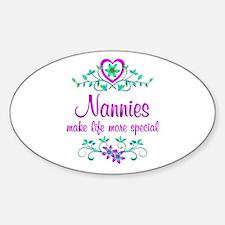Special Nannie Sticker (Oval)