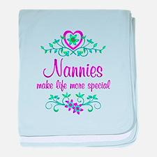 Special Nannie baby blanket