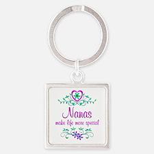 Special Nana Square Keychain