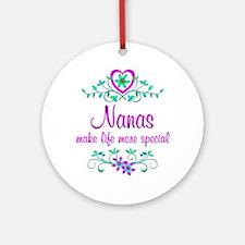 Special Nana Ornament (Round)