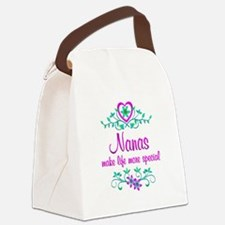 Special Nana Canvas Lunch Bag