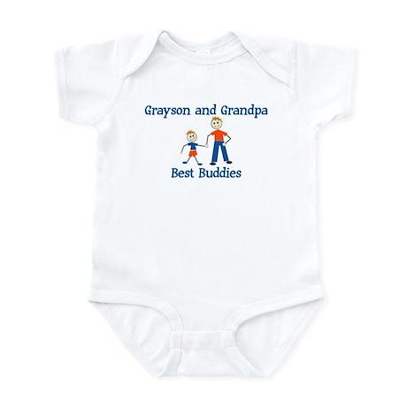 Grayson & Grandpa - Best Budd Infant Bodysuit