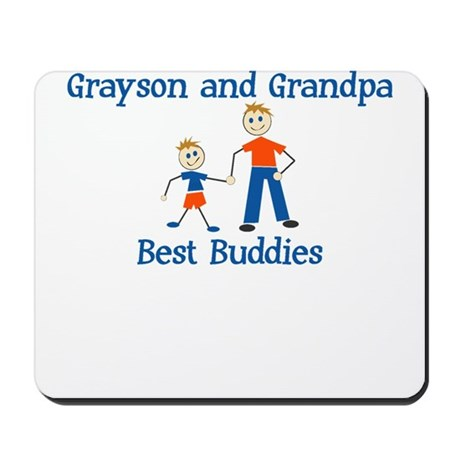 Grayson & Grandpa - Best Budd Mousepad